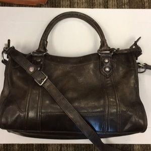 Frye Melissa slate satchel
